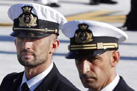 Accused Italian Marines
